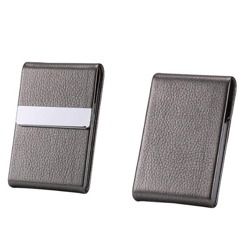 Caixa de cigarro de aço inoxidável caixa de armazenamento de charuto do plutônio tabaco titular 1 pc cartão casos fumar acessórios multifunções