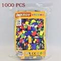 Baktoy 10702 1000 unids ladrillos hueco ciudad diy creativo de ladrillos niños juguetes educativos bloques de construcción a granel compatible con lego