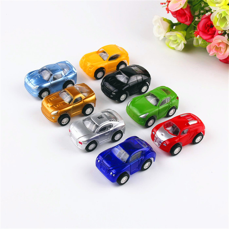 10 Pcs Small Cars Educational Toys Mini Lovely Baby Toy