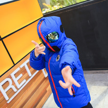 2016 Winter Children Outwear Boys Girl Casual Down Coat Baby Warm Coats Kids Thick  Hooded Altman Glasses Fashion Down Coat