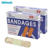 Free Shipping100PCs/2BoxesWaterproof breathable hemostatic rapid sterile medical grade adhesive bandage Band-Aid CreativeZ13402