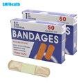 Shipping100PCs Free/2 BoxesWaterproof respirável classe médica estéril curativo adesivo Band-Socorros hemostático rápido CreativeZ13402