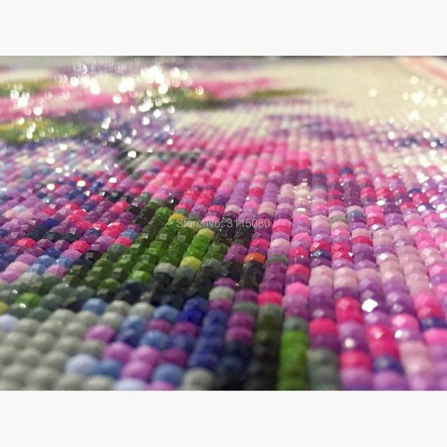 H1484 5 d الماس اللوحة ، diamont اللوحة ، 5d diy الماس اللوحة الجبال و المياه و الزهور