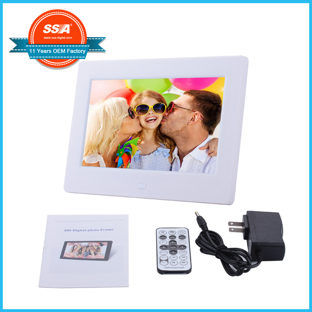 10 pcs/carton Promotion digital photo frame 7 inch,play video, Play ...