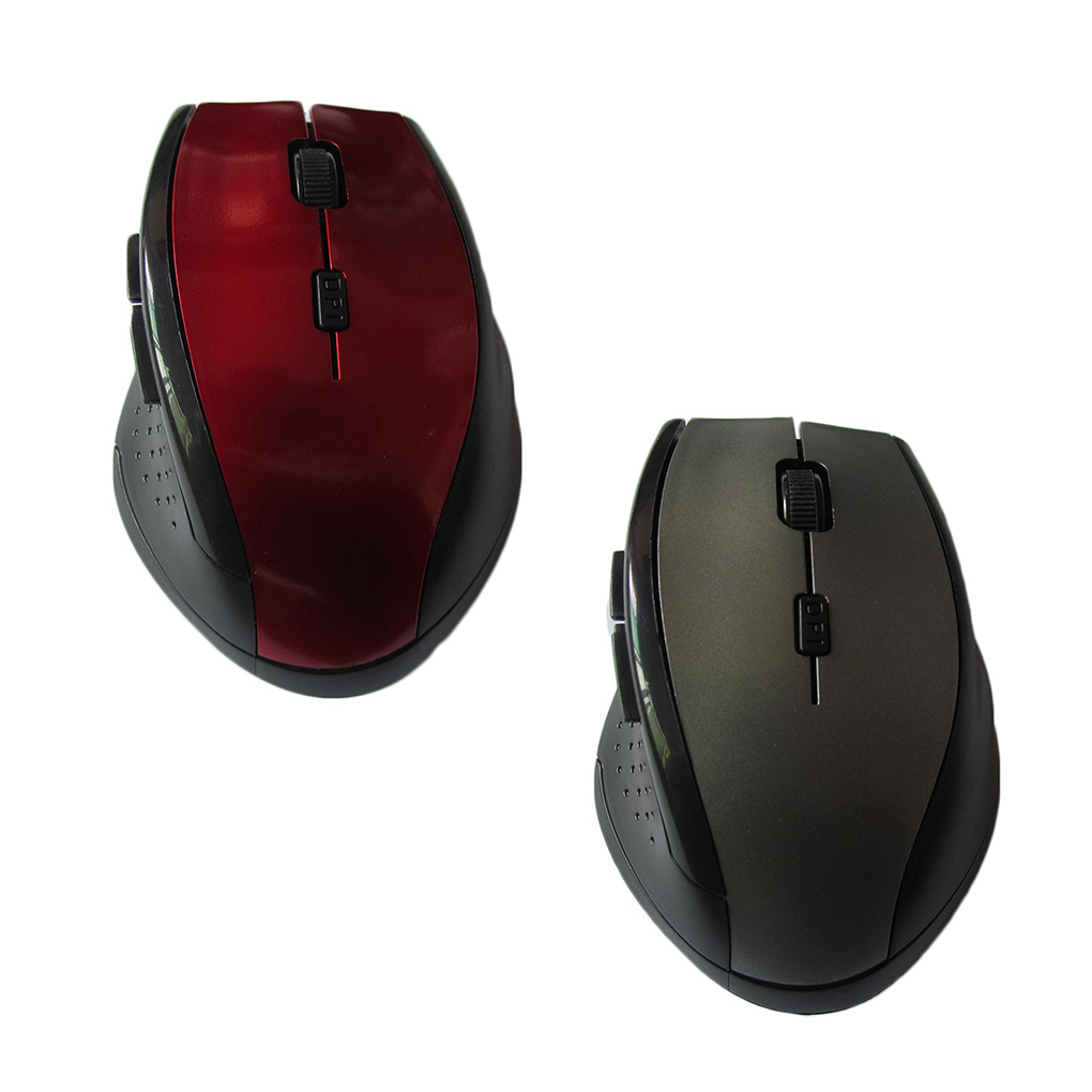 Hot Style 2.4GHz Wireless Mouse 6 Buttons Optical Computer Cordless USB Receiver Office Laptop Mice