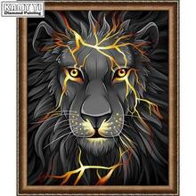 5d diy Алмазная картина голова тигра полная Дрель Стразы наборы