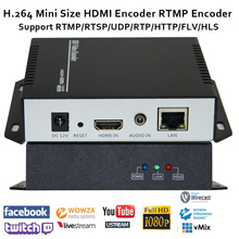 H.264 HDMI Video Encoder understøttelse RTSP / RTMP / UDP / RTP / HTTP for live Broadcast iptv encoder