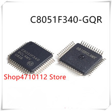 NEW 10PCS LOT C8051F340 GQR C8051F340 LQFP 48 IC