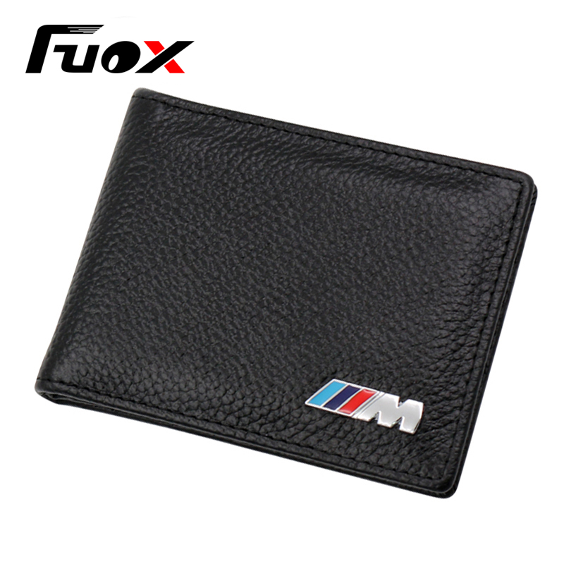 Car Leather License Bag M Logo Car Styling For BMW E46 E39 E60 E90 E36 E30 E34 E38 E53 E87 X1 X3 X5X6 Z4 E92 E93 Car accessories