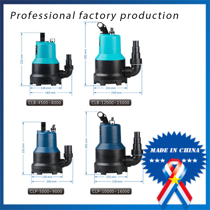 все цены на  Submersible pump CLB-5500 plastic rockery aquarium water changes home landscaping pond pumps 110w  в интернете