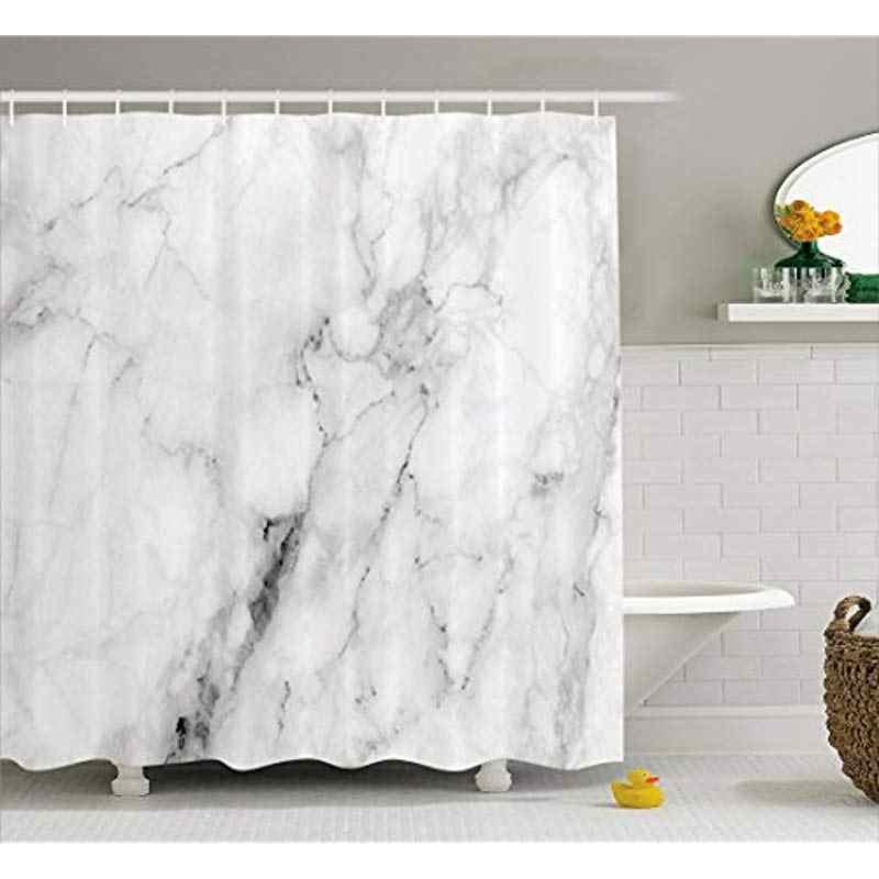 Vixm мраморная занавеска для душа мраморная поверхность узор с треснутыми линиями и туманными полосками художественный дисплей ткань для ванной занавес s