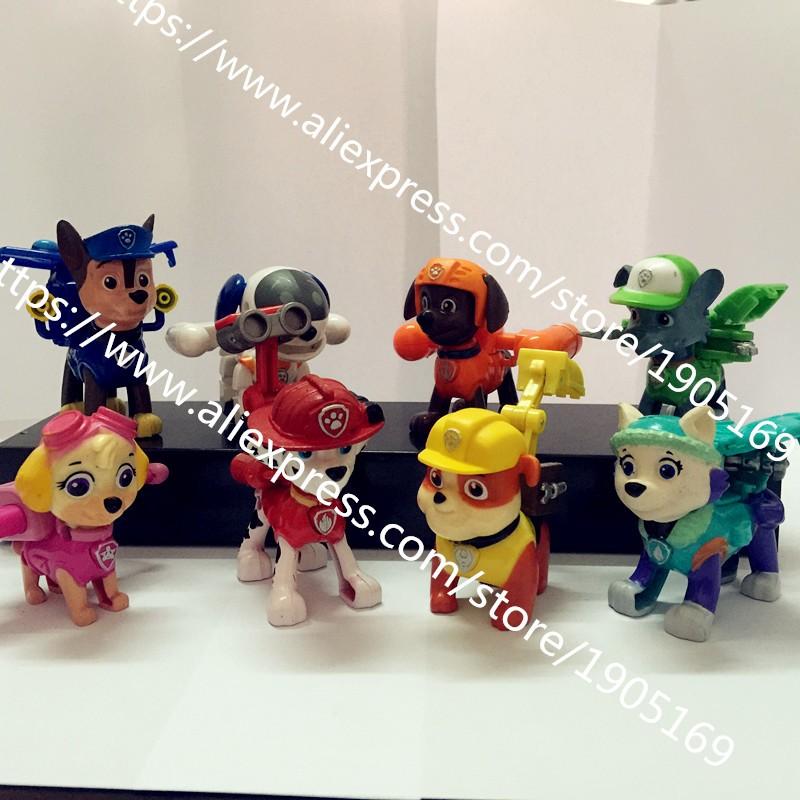 8 шт. juguetes Дети щенок фото