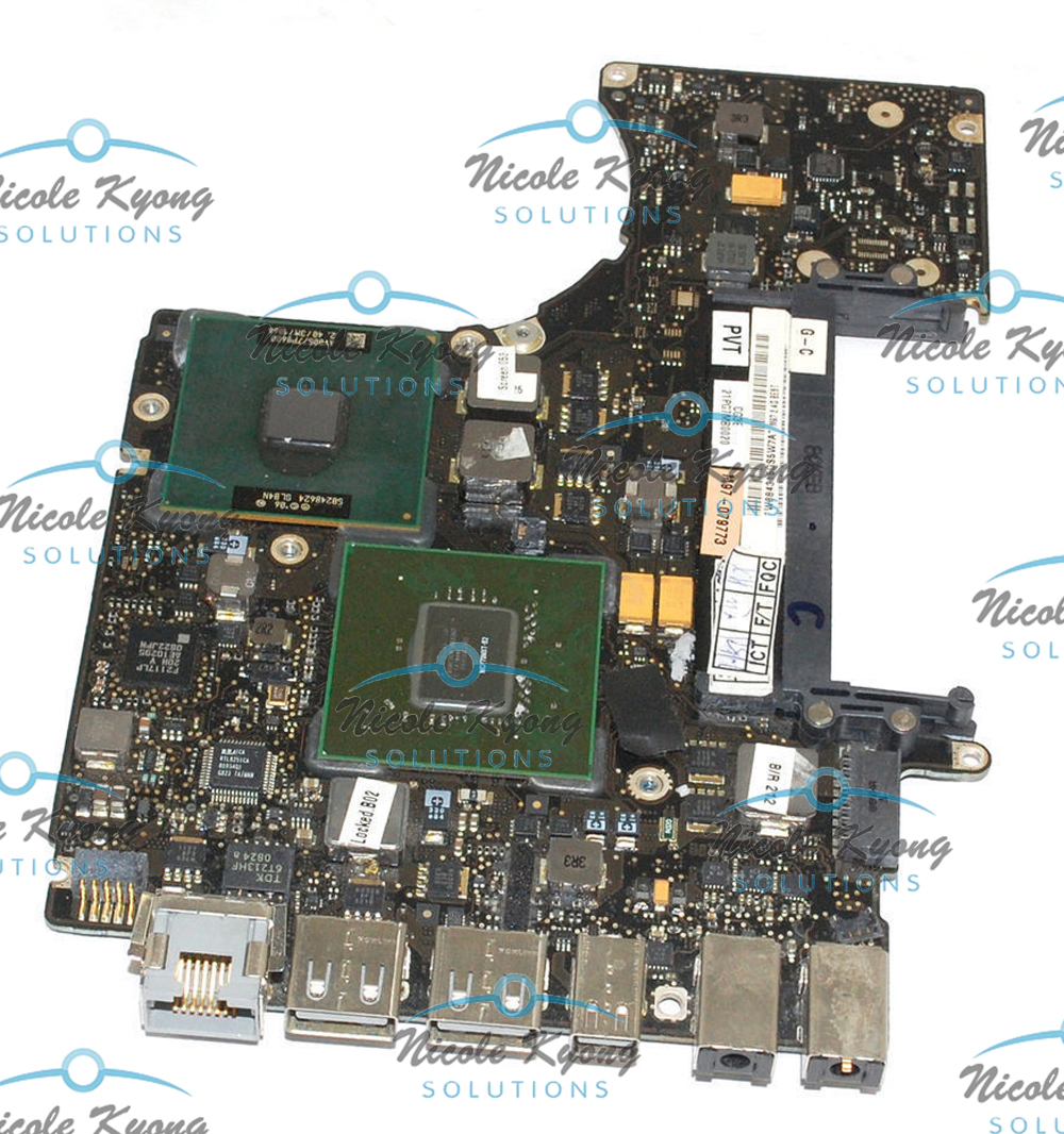 13 820-2327-A 661-4819 661-5102 MB467LL/A 2.4GHz P8600 motherboard Logic Board for MacBook A1278 Late 2008