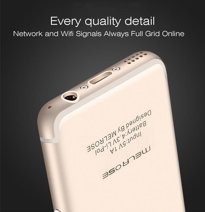 MELROSE Ultra-thin Smartphone Phone 5