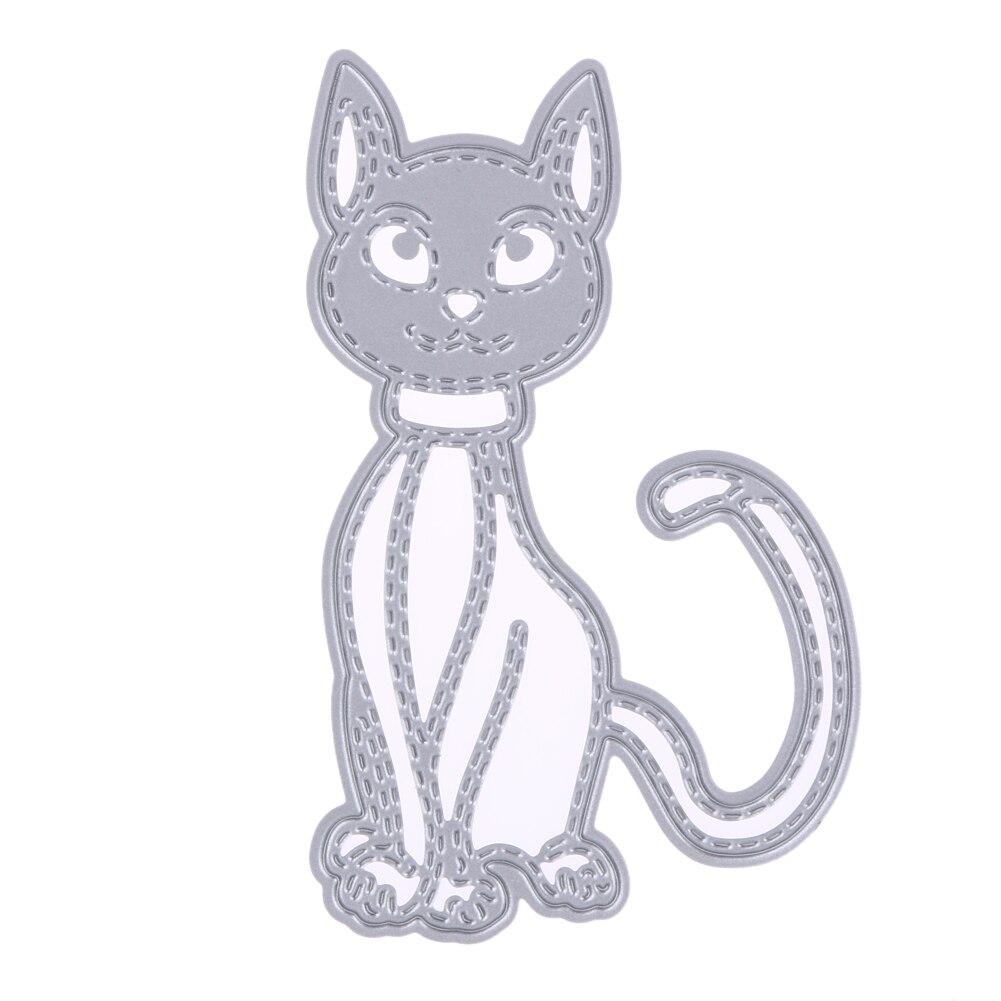 Scrapbook paper envelope template - Cat Metal Cutting Dies For Scrapbooking Card Frame Die Cuts Diy Envelope Decorative Embossing Folder Die Cutter Template