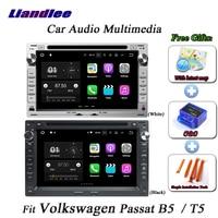 Liandlee автомобиля Android Системы для Volkswagen Passat B5/T5 радио cd dvd плеер gps Nav Navi навигация ТВ HD Экран мультимедиа