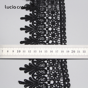 Image 5 - Lucia crafts  Embroidered  Lace Fabric 2020  Sewing Handmade DIY Dress Clothes  1y/2y N0508