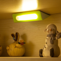 High quality cupboard night light Toilet Battery lamp with the motion sensor for indoor emergency light