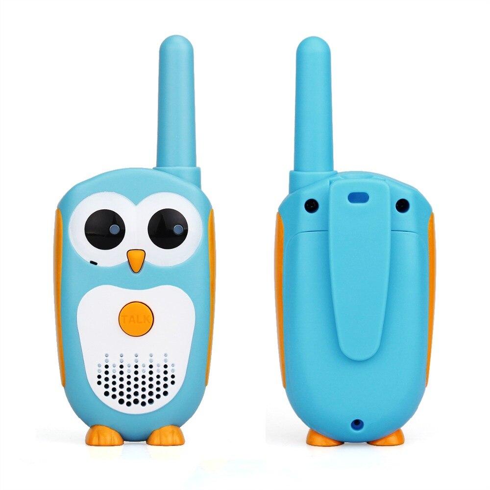 2pcs Retevis RT30 Walkie Talkie Kids 2pcs Cartoon Owl Design Two Way Radio Portable  0.5W 1Channel FRS/PMR PMR446 Walkie-talkies