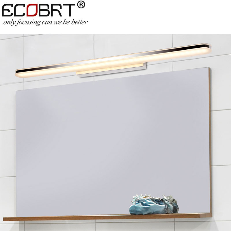 2016 Hot Sale New Product 16W Acrylic LED Bathroom Mirror Light Wall Mounted Lamp With CE RoHS100 240v Ac