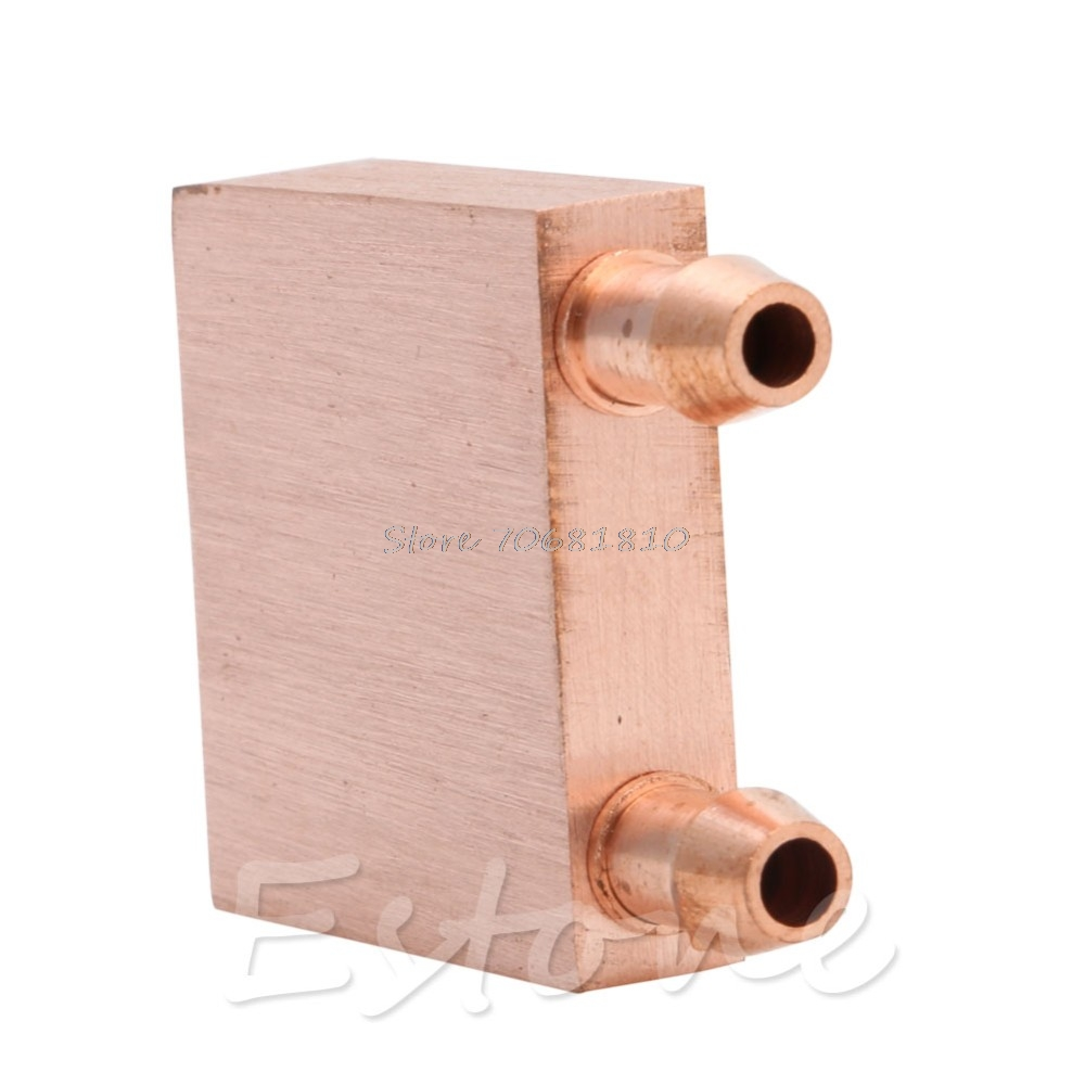 Copper Water cooling block FOR graphics GPU endothermic head //CPU Computer PC
