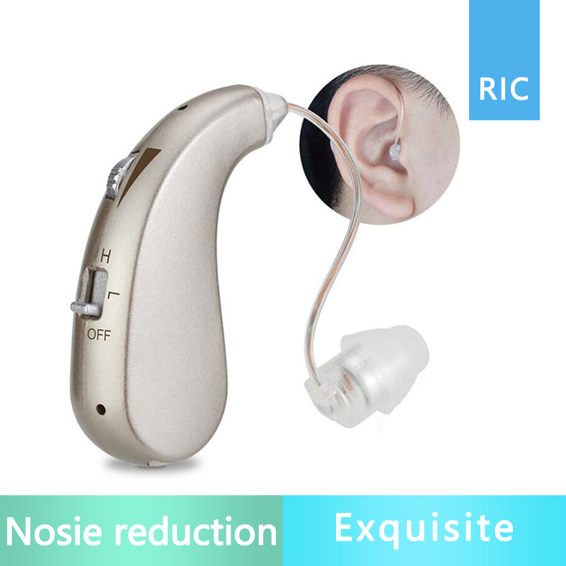 Rechargeable Digital RIC Hearing Aid Hearing Amplifier Ear Care Compared to Siemens Hearing Aids Hearing Loss resound(China)