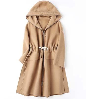 Распродажа 2018 г. новые женские шерстяные кашемировые пальто с капюшоном шляпу женские зимняя одежда хаки коричневый зеленый Верблюд Свобод
