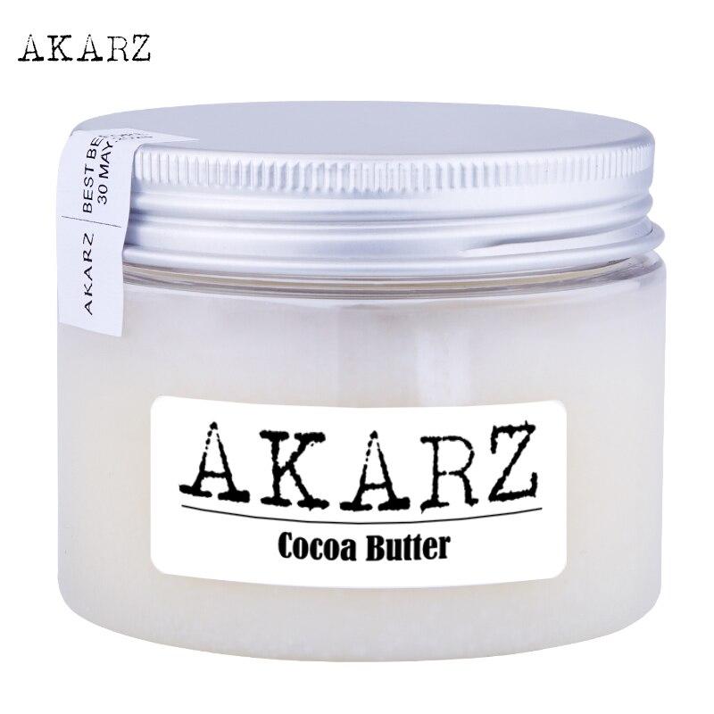 AKARZ Brand Natural Pure Cocoa Butter Cream Maternity Stretch Marks And Scar Skin Body Repair Remove Scar Care Cream 60G