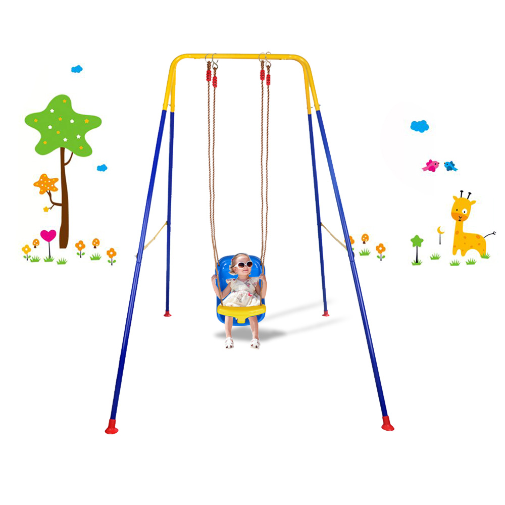 Children Swing Kindergarten Playground Outdoor Toys Hanging Swing Seat Backyard Toy Toddler Tree Swing Seat Indoor Kids Chair