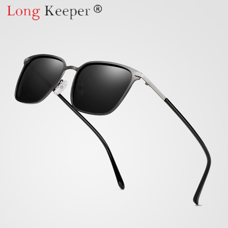 Long Keeper Sunglasses Women Men Square Sun Glasses Pc Big Frame Eyewear Eyeglasses Spectacles Hd Lens Uv400 Shade Fashion Drive Apparel Accessories