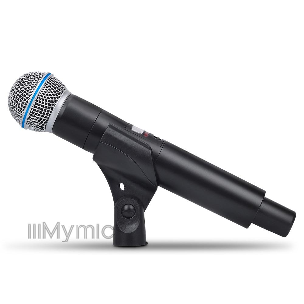 Micro sans fil UHF PRO QLXD4 True diversité QLXD1 Bodypack + revers + casque + micro portable QLXD2 pour scène karaoké DJ-in Microphones from Electronique    3