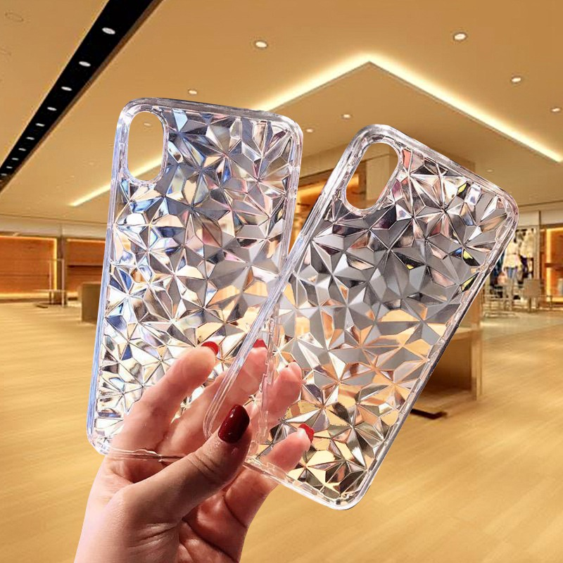 Luxury Diamond <font><b>Case</b></font> For <font><b>Samsung</b></font> <font><b>GALAXY</b></font> A10 A20 A30 <font><b>A40</b></font> A50 A60 A70Back <font><b>Cover</b></font> For <font><b>GALAXY</b></font> M10 M20 M30 Luxury Transparent Phone Bag image