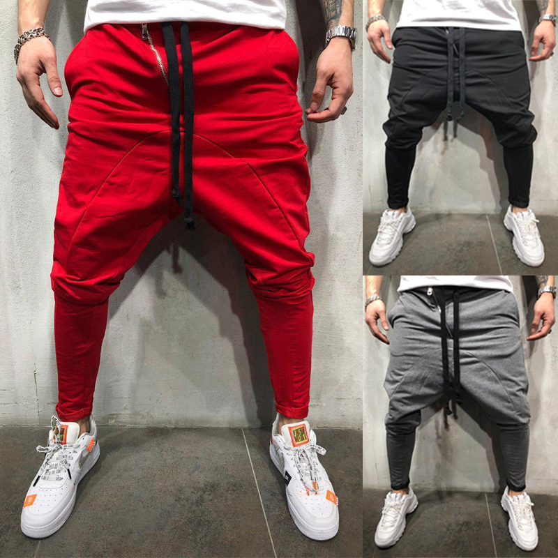 2019men Pants Casual Harem Pants Men Joggers Streetwear Joggers Men Hip Hop Pants For Young Schoolboys And Fashion Pants
