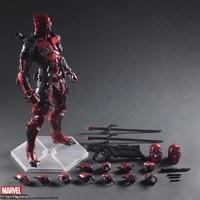 ZXZ Marvel Avengers Deadpool 2 28cm Action Figure Posture Model Anime Decoration Collection Figurine Toys model for children
