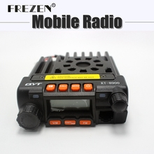 NEW 25W MINI Mobile Radio QYT KT-8900  Dual Band Car Radio Transceiver Walkie Talkie VHF/UHF 136-174/400-480MHz
