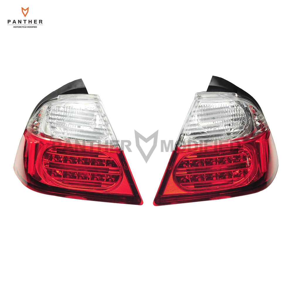 1 Pair Motorcycle Tail Light Brake Turn Signals With LED Moto Brake Lights case for Honda Goldwing GL1800 2006-2009 2010 2011 aftermarket free shipping motorcycle parts led tail brake light turn signals for honda 2000 2001 2002 2006 rc51 rvt1000r smoke