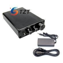 Big discount HIFI Bluetooth Power Amplifier 2.0 Dual Channel 50W+50W Digital Audio AMP + Power Supply HT21L-100