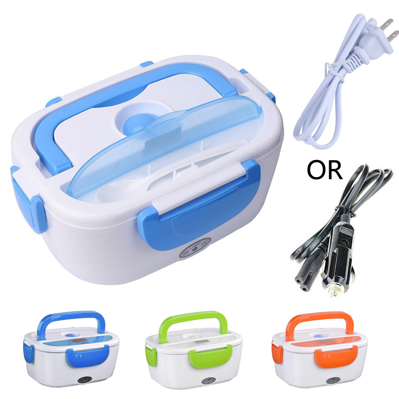 110/220V Portable Electric Heating Lunch Box Food-Grade Food Container lunch Warmer For Kids school work bento box