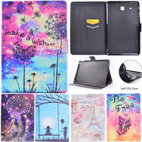 Wekays Case For Samsung Tab E 9 6 T560 Stand Flip Fundas Case For Coque Samsung