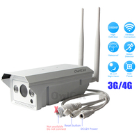 FULL HD 1080P Outdoor Waterproof GSM 3G 4G IP Camera SIM Card IP Camera Wifi 960P 2.0MP AP Max to 128G SD View anywhere anytime