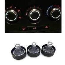 3 pçs/set Interruptor de Controle de Calor Botão Ar Condicionado AC Knob Para Mazda 3 BL 2010 2011 2012 2013 Acessórios Do Carro