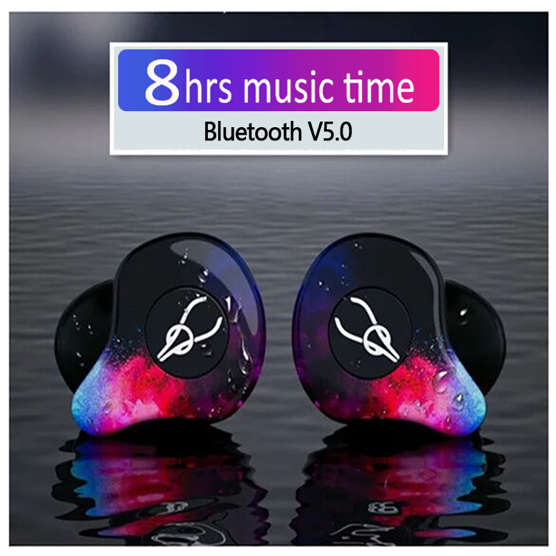 Sabbat X12 Pro Mini 3D Stereo Sound Bluetooth Earphone V5.0 Invisible True Wireless Waterproof Sport Earbuds with Charging Bin sabbat mini tws v5 0 bluetooth earphone sport waterproof true wireless earbuds stereo in ear bluetooth wireless ear buds headset