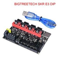 Biqu bigtreetech skr e3 dip v1.0 32 bit placa de controle com tmc2208 uart tmc2130 spi driver para ender 3/5 pro peças impressora 3d