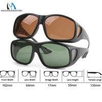 Максимально подходящие поляризованные солнцезащитные очки для рыбалки 2 цвета спортивные очки для занятий на открытом воздухе солнцезащит...