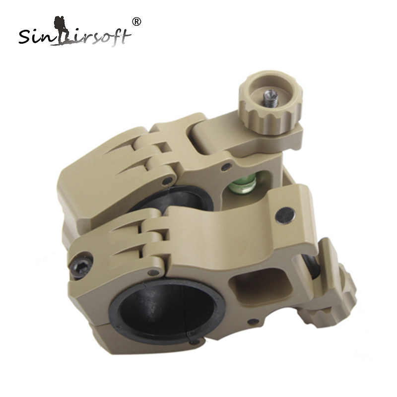 SINAIRSOFT M10 Steel Scope Rings Separate Rifle Scope Mount QD 25mm/30mm Scope Mount With Bubble Level Riflescope Rings HT2-0034