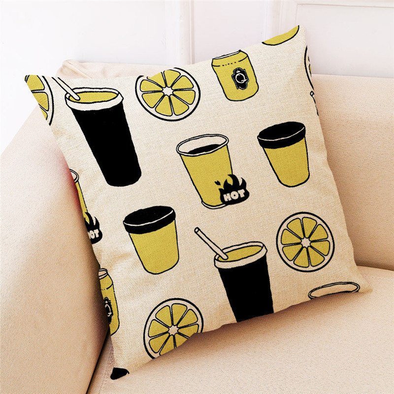 Image 4 - ISHOWTIENDA Fashion Cotton Linen Square 2019 New Arrival Home Decorative Throw Pillow Cove Sofa Waist Cushion Cover High Quality-in Cushion Cover from Home & Garden