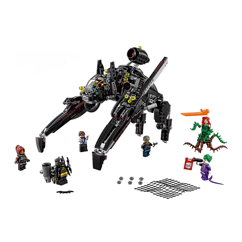 children toy CHINA BRAND 07056 self-locking bricks Compatible with Lego Batman Movie The Scuttler 70908 without original box toys for children china brand 355 self locking bricks compatible with lego technic rescue helicopter 8068 no original box