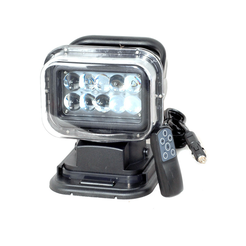 Top 7INCH 50w 12v-24v Car Truck Offroad vehicles 50W LED Searchlight Led work light with Magnet for Hunting Searching atreus 50w 7 led spot light with remote control searching lights for jeep suv truck hunting boat camp lamp bulb car accessories