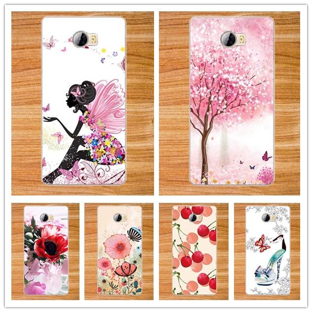 Мода Новые DIY живопись Печати цветы Задняя Крышка Для Huawei Y5II Телефон аргументы за Крышки Huawei Y5ii/Y5 II 2 5.0 дюймовый