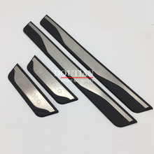New stainless steel door sill Scuff Plate Welcome Pedal For Kia Picanto 2018 2015 2016 2017 Car Styling Accessories